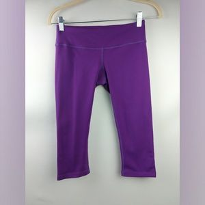 Splits59 Purple Capri Athletic Leggings